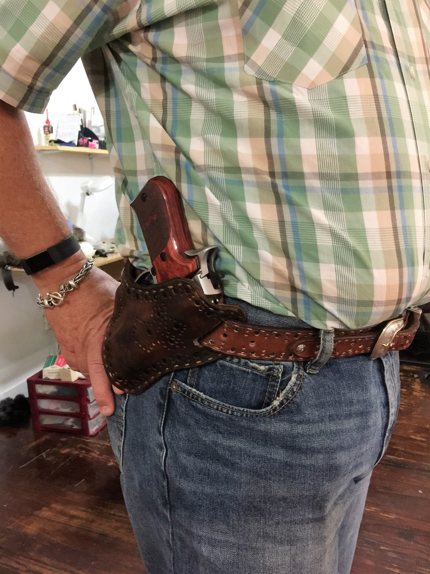 Custom Holster &Ranger Belt