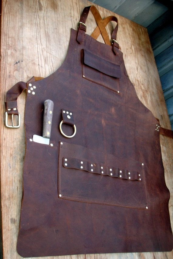Leather Butcher's Apron
