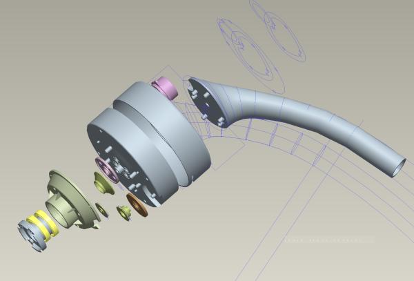 Electro Mechanical System Assembly