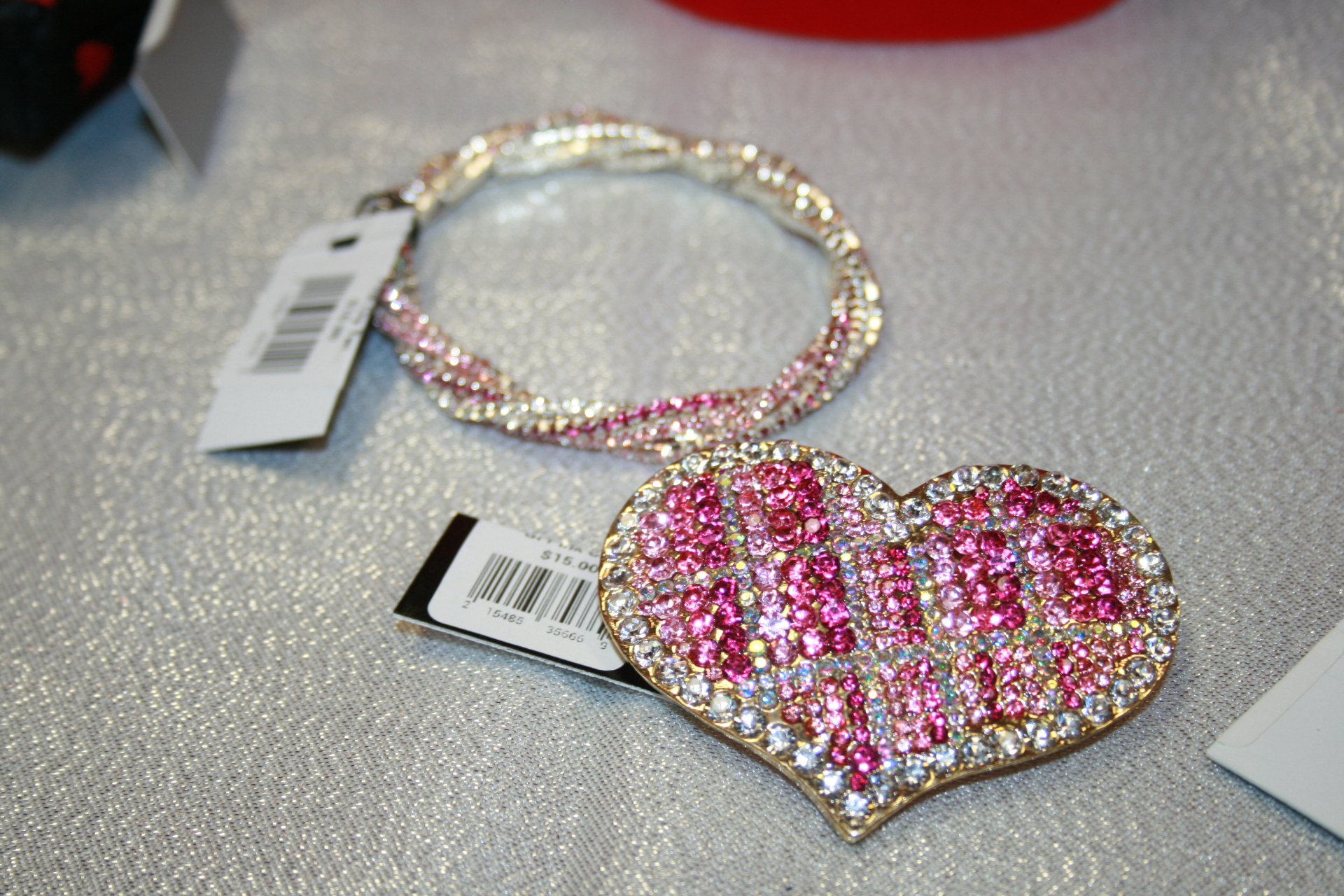 Matching Bracelet and Pin