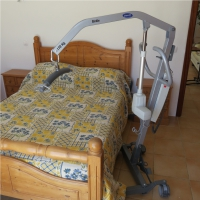 Electric bed hoist-disabled holidays-The Algarve-Portugal