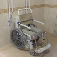 shower chair-disabled holidays-The Algarve- Portugal