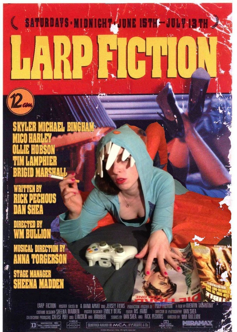 Larp Fiction Poster