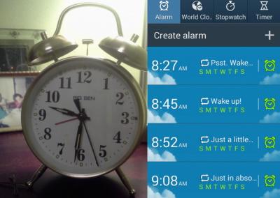 Wake up. No snooze. No naps.