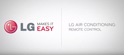 LG Ductless Remote Control