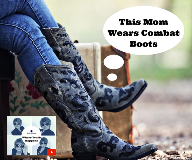 Just Jessica: This Mom Wears Combat Boots