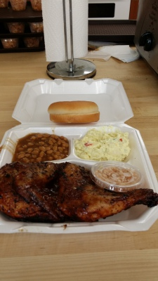 BBQ Chicken Plate from this year's LMM Event