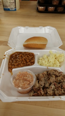 BBQ Plate from this year's LMM event.