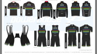 New Fusion Tri kit coming out in the New Year