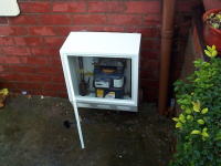 surface mounted gas meter box cover
