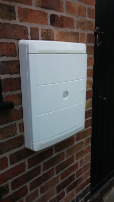 overbox for gas boxes or electric boxes