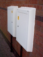 metal meter box covers for gas or electric meters