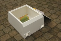 surface mounted gas meter box