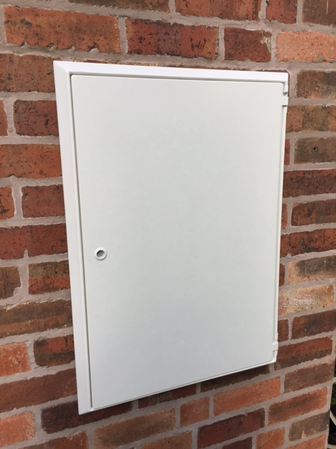 Large Overbox or cover for Electric meter boxes