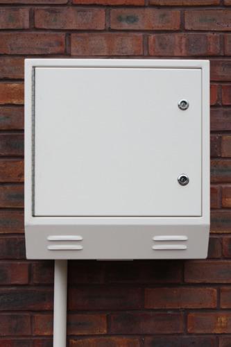 metal meter box cover