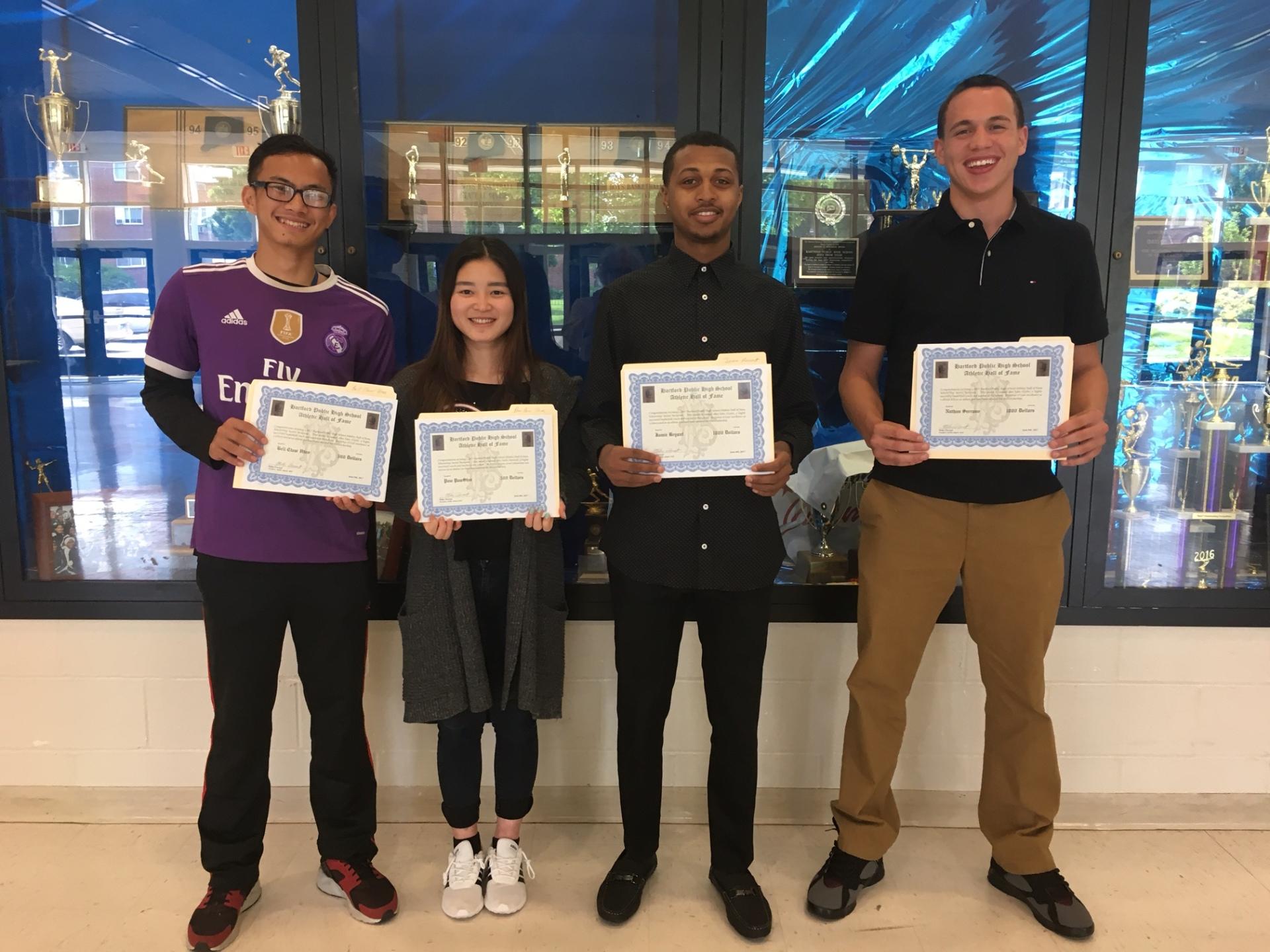 2017 Scholarship Presentation June 8th, 2017