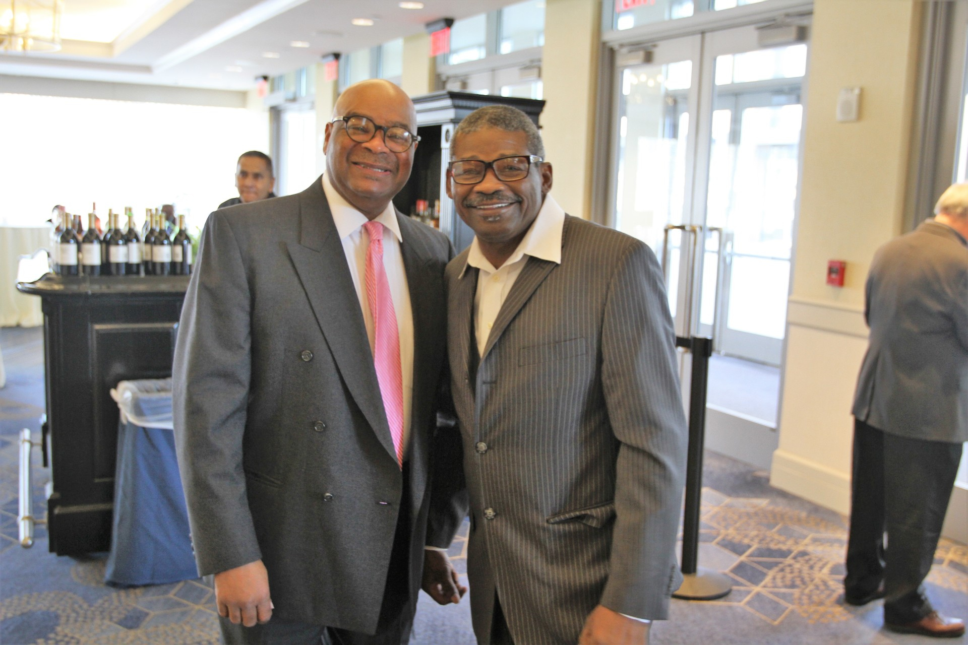 Gerrall Lewis and Marlon Starling