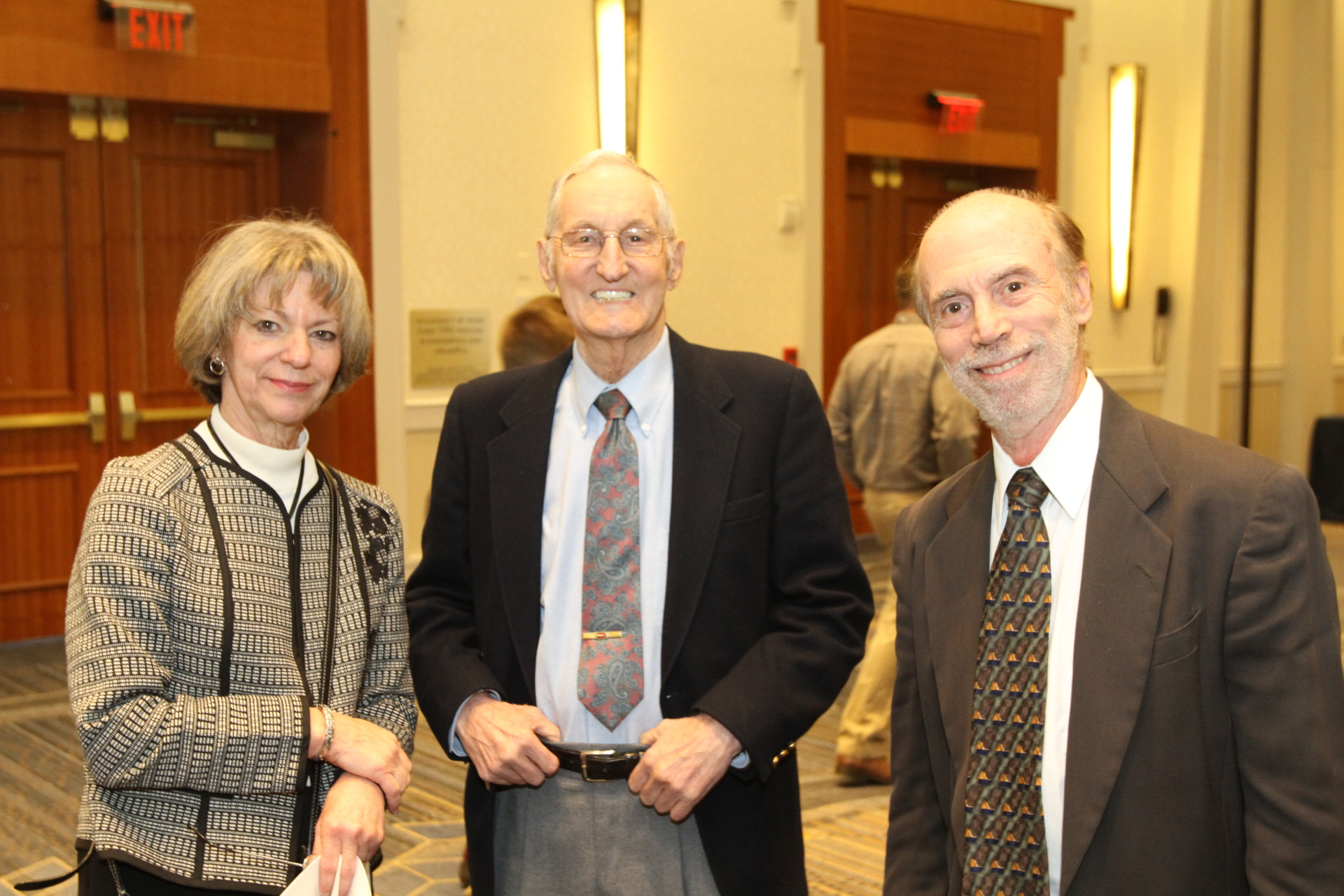 Vickie Kuziak, Paul Benoit, and Luke Williams