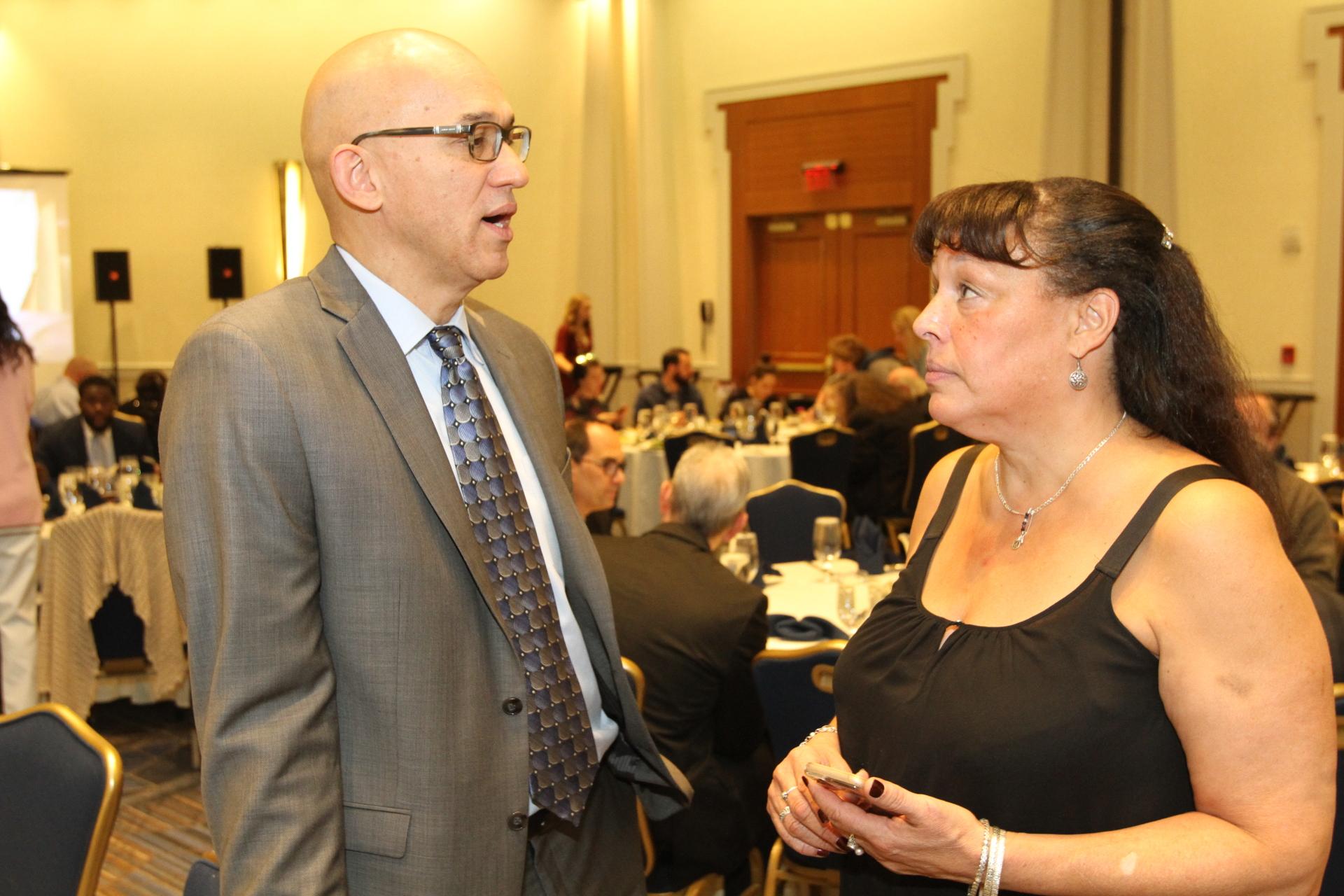 Vinnie Ithier and Lynn Dennis