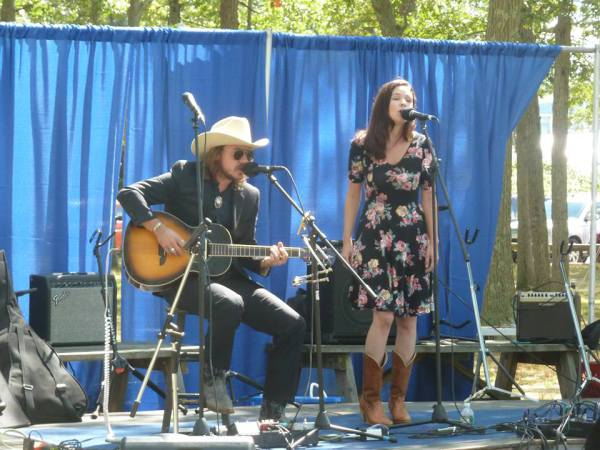 C&L at Barrington's FIddle n Folk Fest