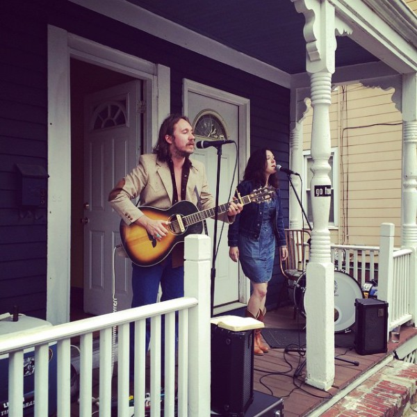C&L at PorchFest in Somerville, MA