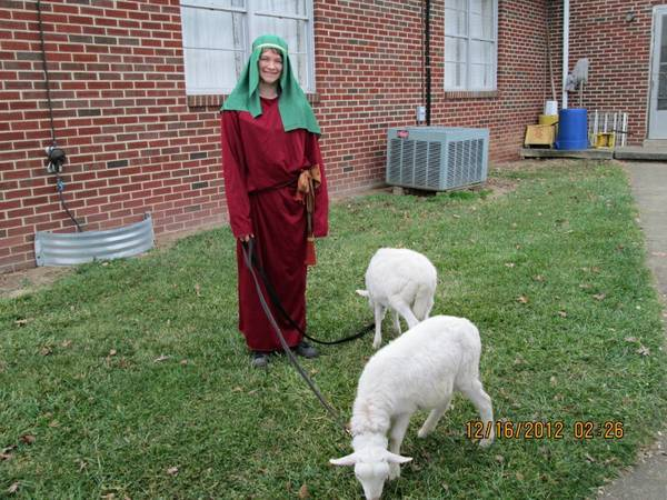 Our Animals as part of Christmas Program