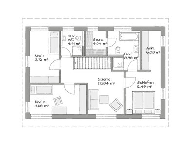 Oslo Modern first floor layout