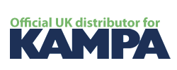 Kampa prefab homes distributor logo