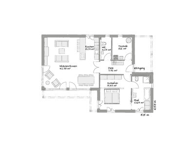 Prefab-classic-bungalow-floor-plan
