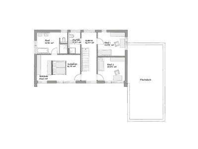 Locarno modular home first floor layout