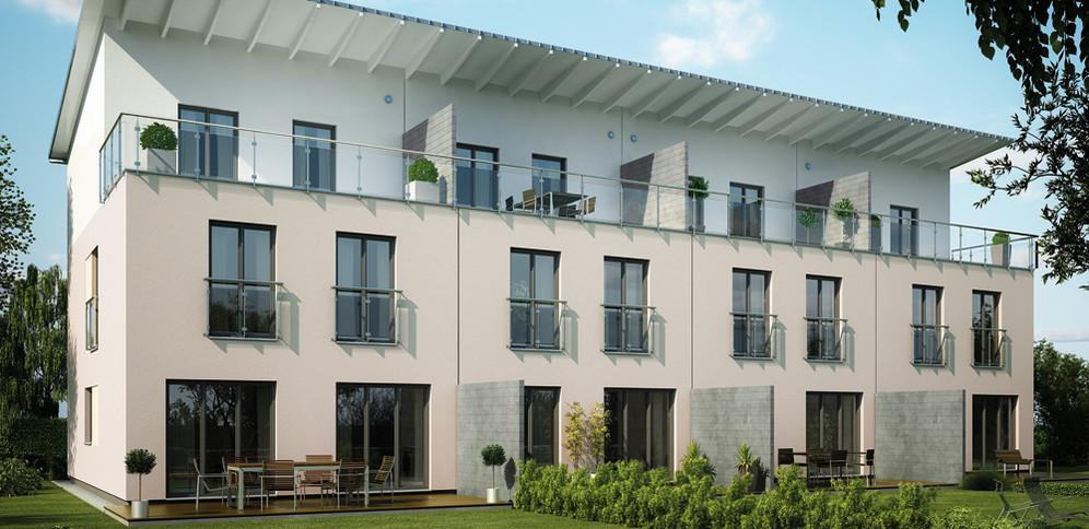 Prefab housing - terrace
