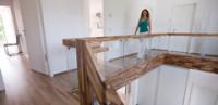 Prefab housing stairs