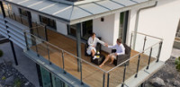 Balcony Large Prefab Home
