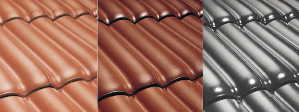 Different Colour Clay Tiles