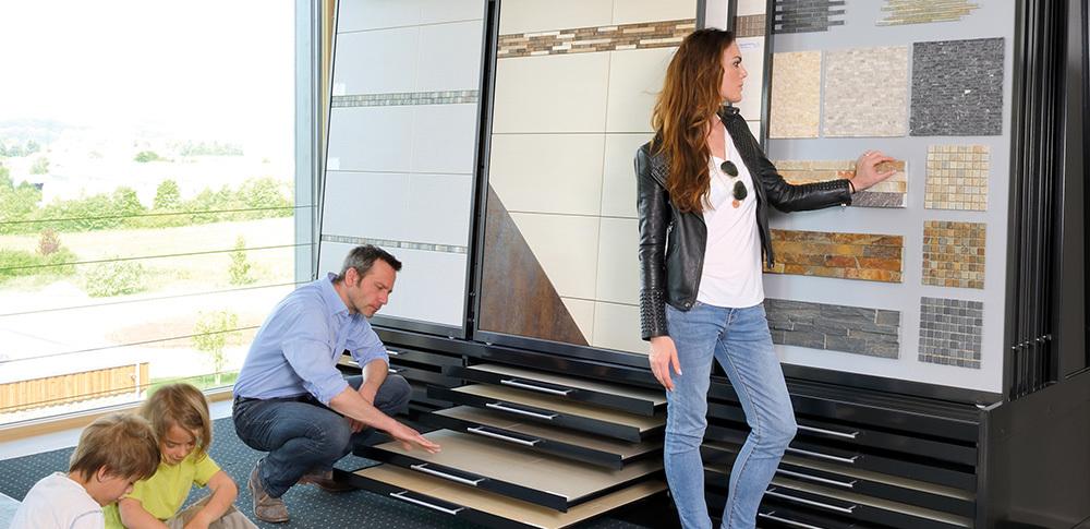 Tile Flooring Prefabricated Home