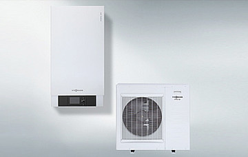 Air source heat pump small