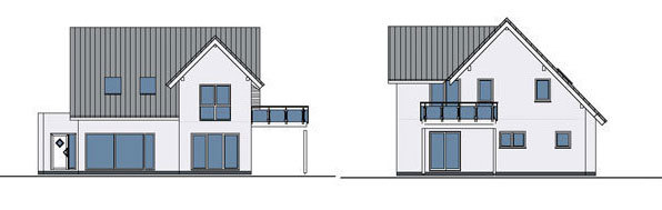Prefabricated house design - K-Haus Ltd