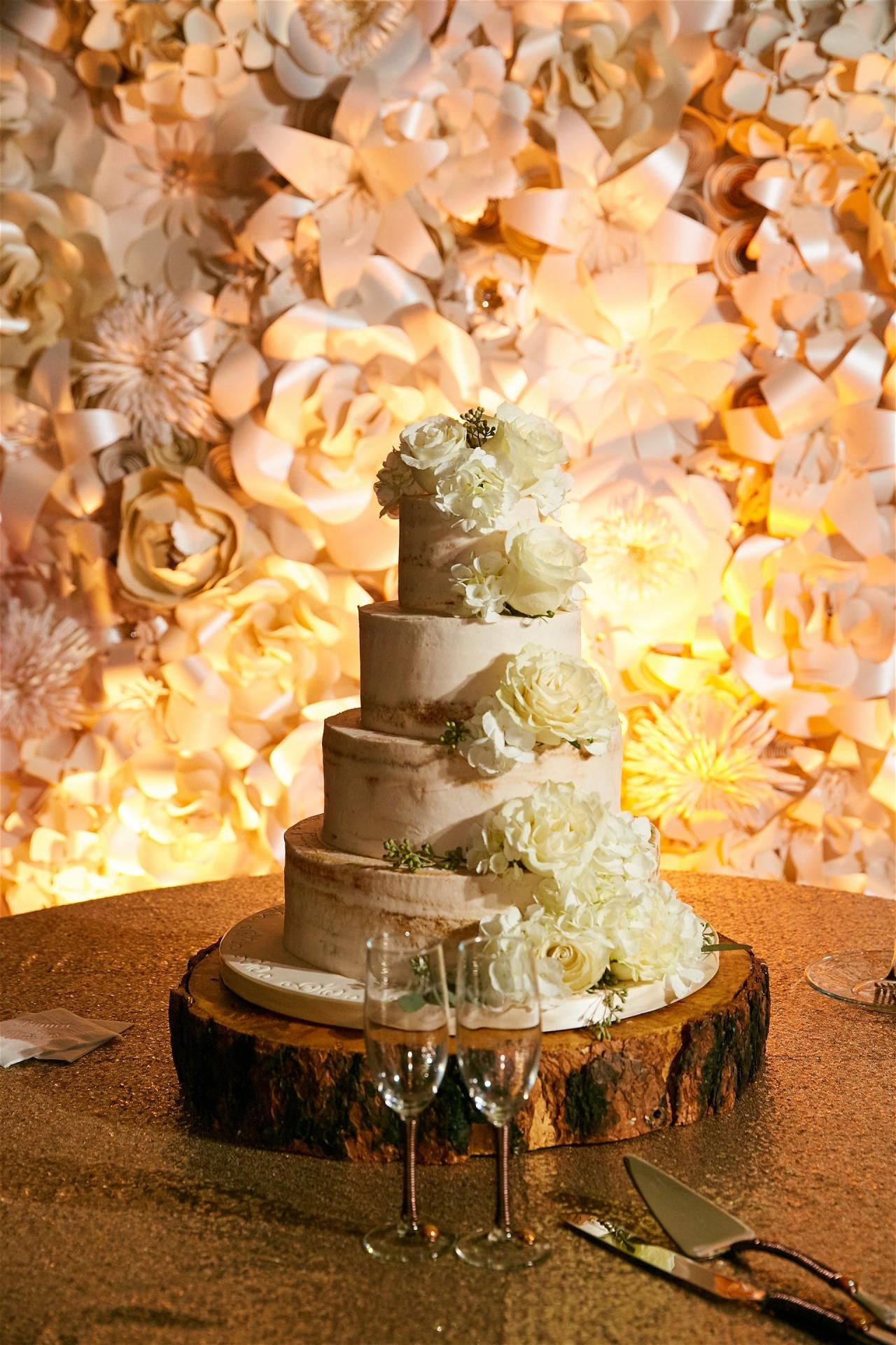 Cake table backdrop, wedding, bridal shower, baby shower, Houston Paper Flowers, Houston,