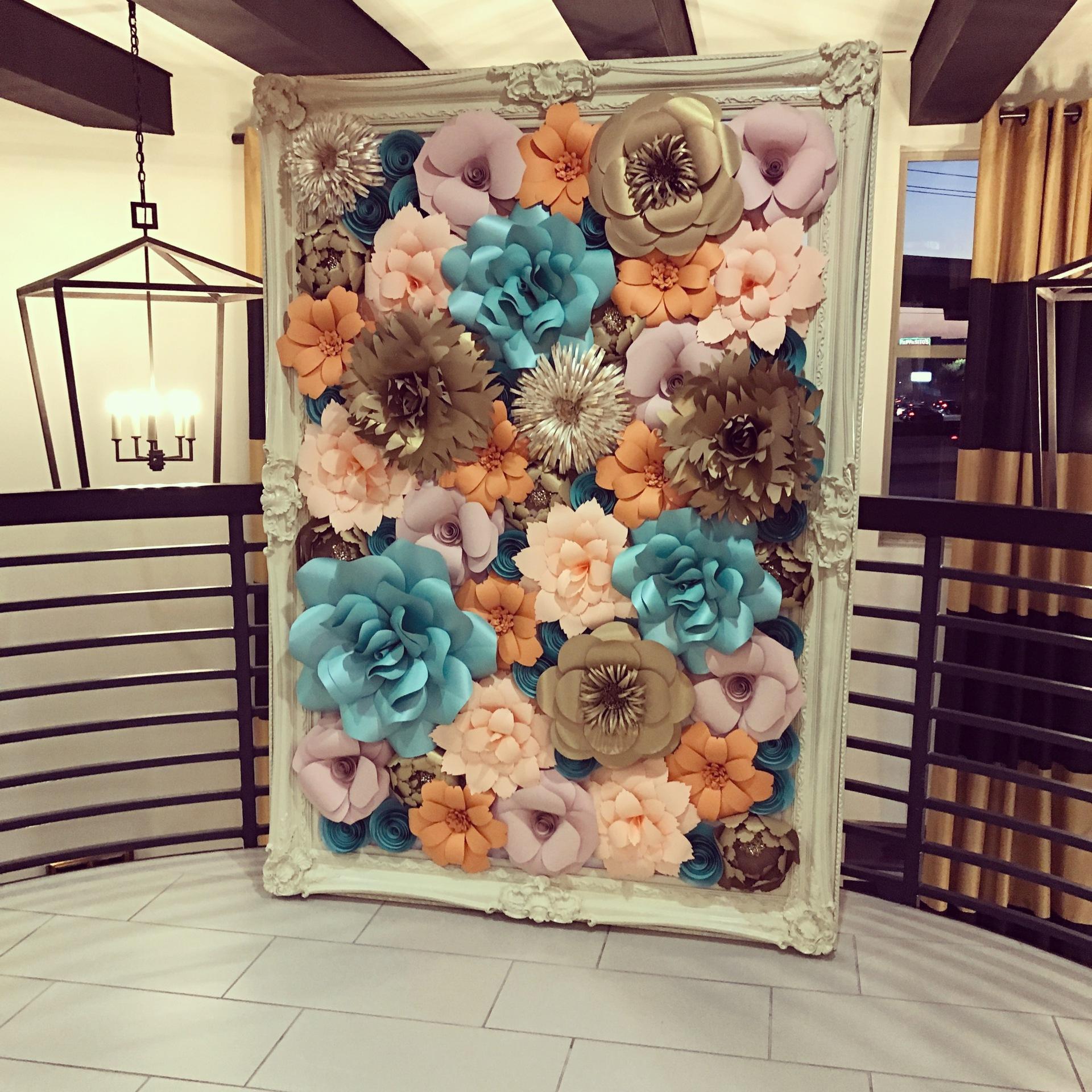 Event decor, wedding, wedding decor, HOUSTON wedding rental, corporate events, quinceanera, bridal shower, baby shower, photo backdrop, Houston Paper Flowers,