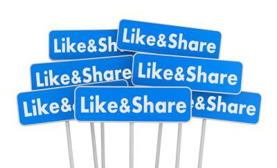 Like, share, facebook marketing, marketing