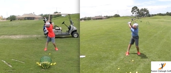Motivated Junior Golfer