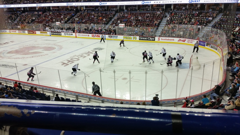 Alberta Weekend 2015, Part 2: Hockey Night at the Saddledome