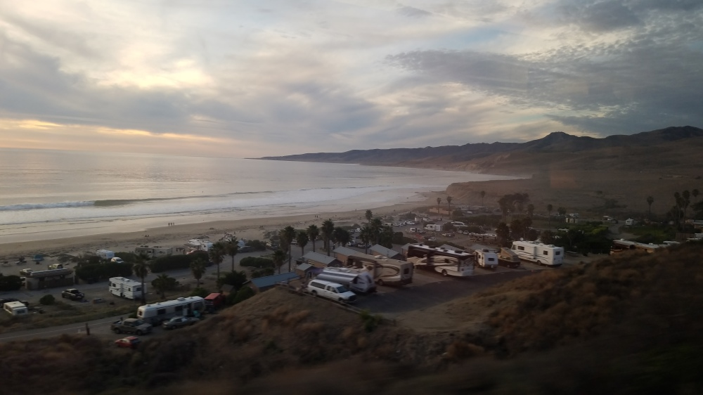 2018 California Winter Visit, Part 1: Journey on the Coast Starlight