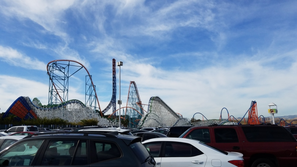 2018 California Winter Visit, Part 2: Six Flags Magic Mountain