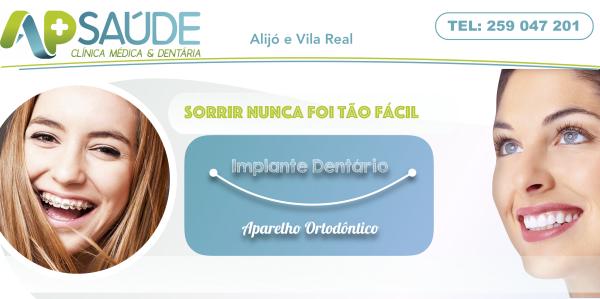 Campanha Ortodontia e Implantes Dentários - Informe-se Já