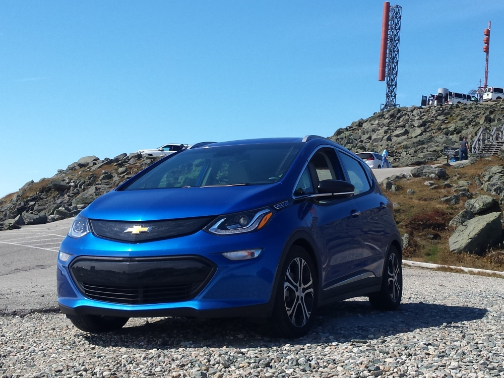 The EV that climbed Mt. Washington