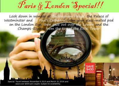 Paris and London Special!
