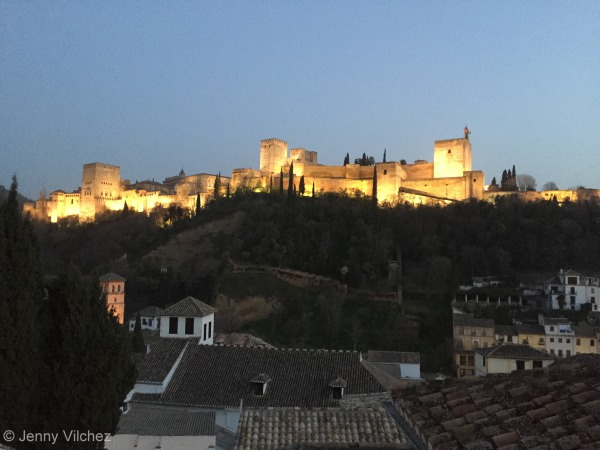 Granada - Tapas, mountains, music, the list goes on.
