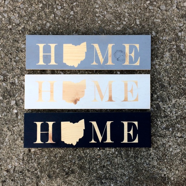Custom Home Sign, Choose Your State