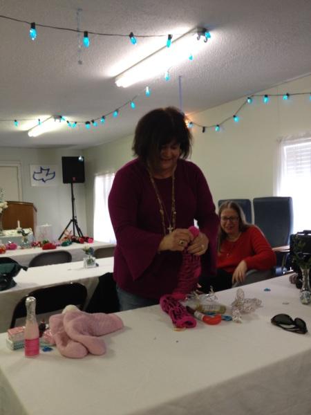 Women'w Christmas Ugly/Cute Sock Exchange